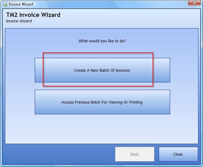 How To Create A Batch Of Invoices Using The Invoice Wizard Desktop - How to create an invoice report in access