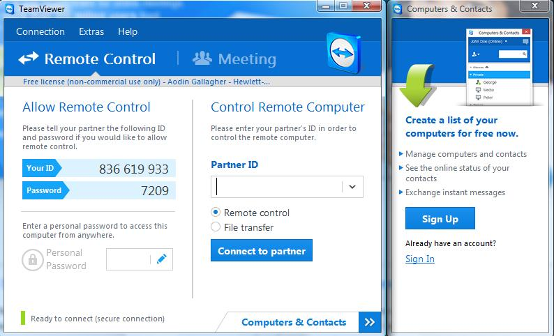 how to install and run teamviewer with tm2 tm3 desktop rh tm2support knowledgeowl com teamviewer user manual teamviewer quick support user guide